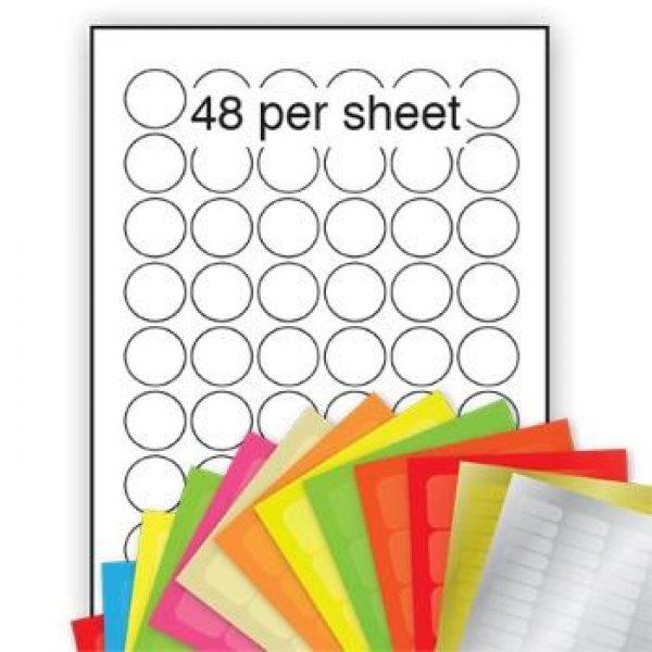 Plain Circle Stickers