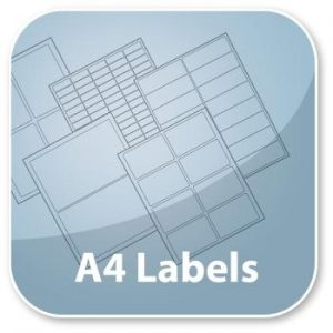 Labels on A4 Sheets