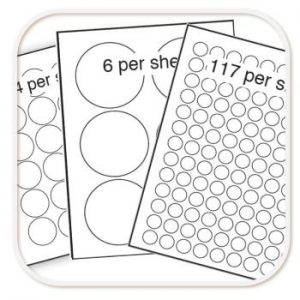 Round Label Sheets