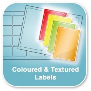 Coloured, Fluorescent & Metallic Labels