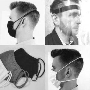 Full-Face Shield Visors & Face Masks