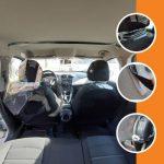 vehicle dividers sneeze screen
