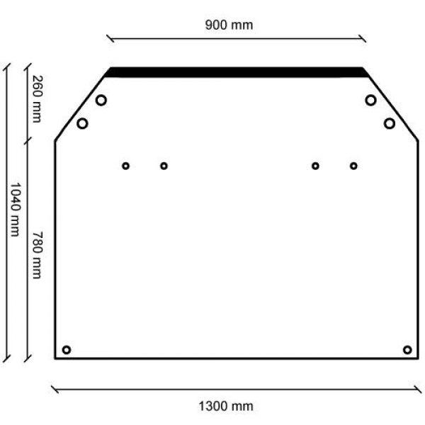 flexible vinyl measurements