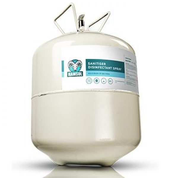 ramsol 22ltr canister square